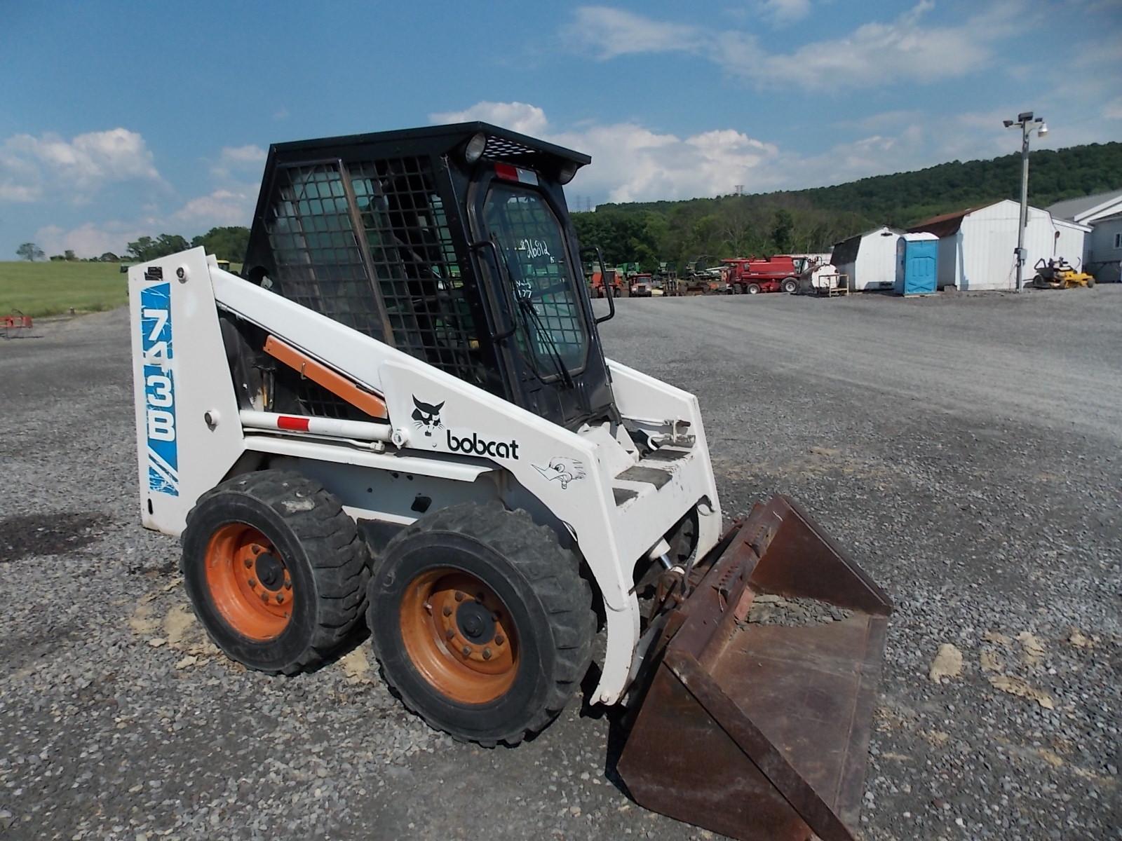 Zeislofts Farm Equipment Sold Used Bobcat 743b Skid Steer