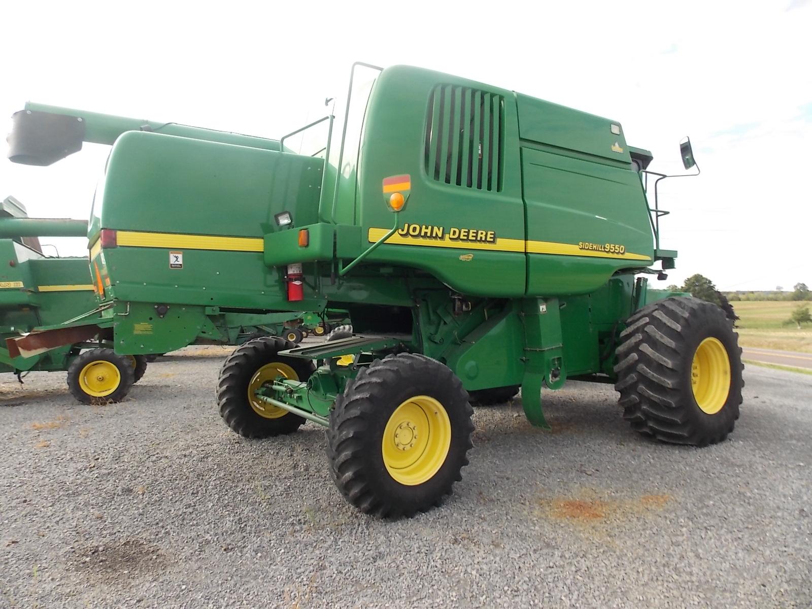Zeisloft S Farm Equipment Used John Deere 9550 Sidehill